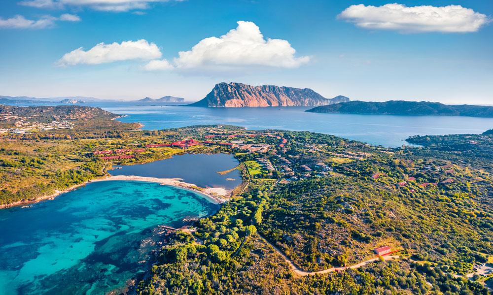 La Laguna di San Teodoro. Camping San teodoro La Cinta